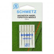 Иглы SCHMETZ Top Stitch 5-№80